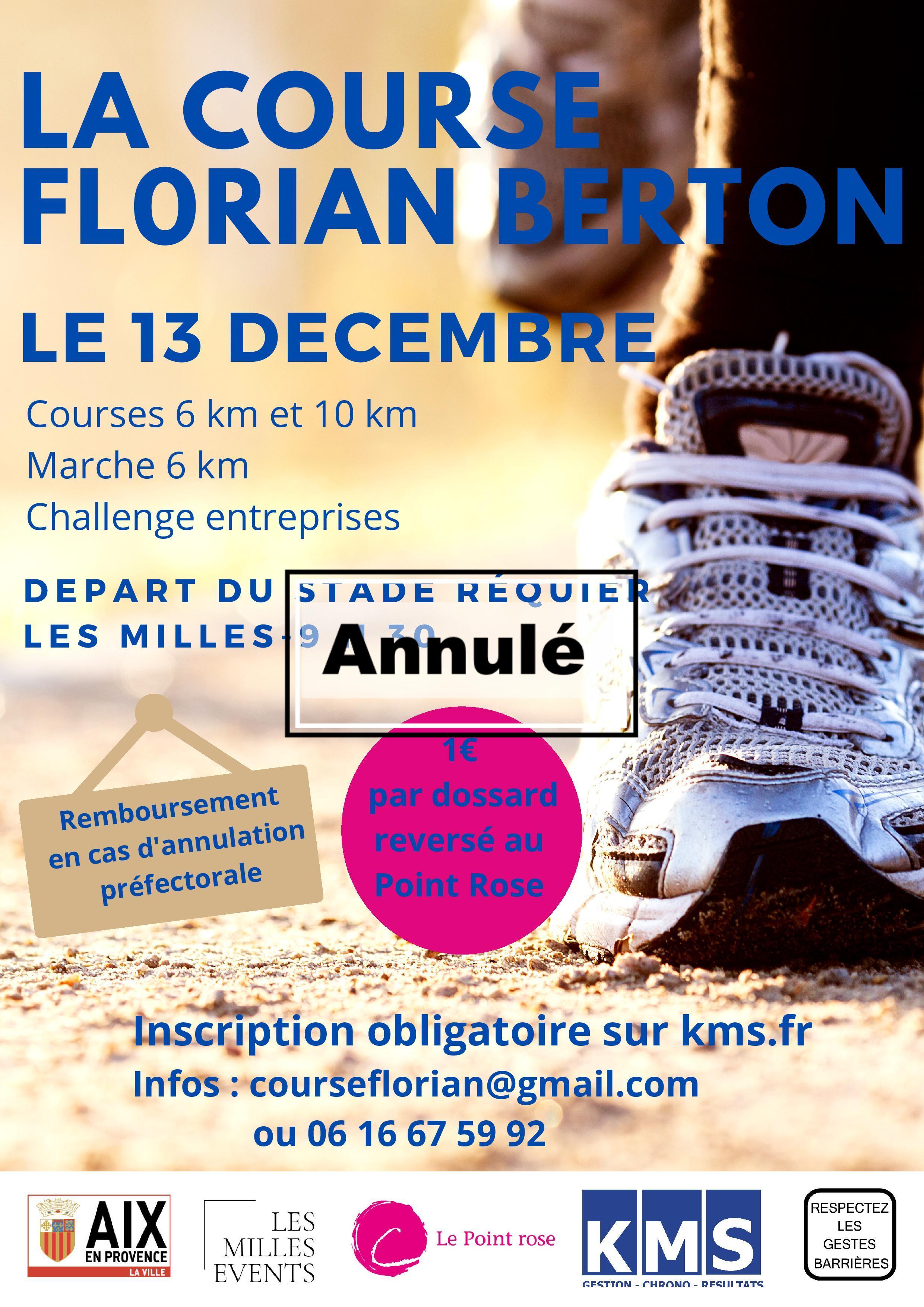 Affiche La Course Florian Berton